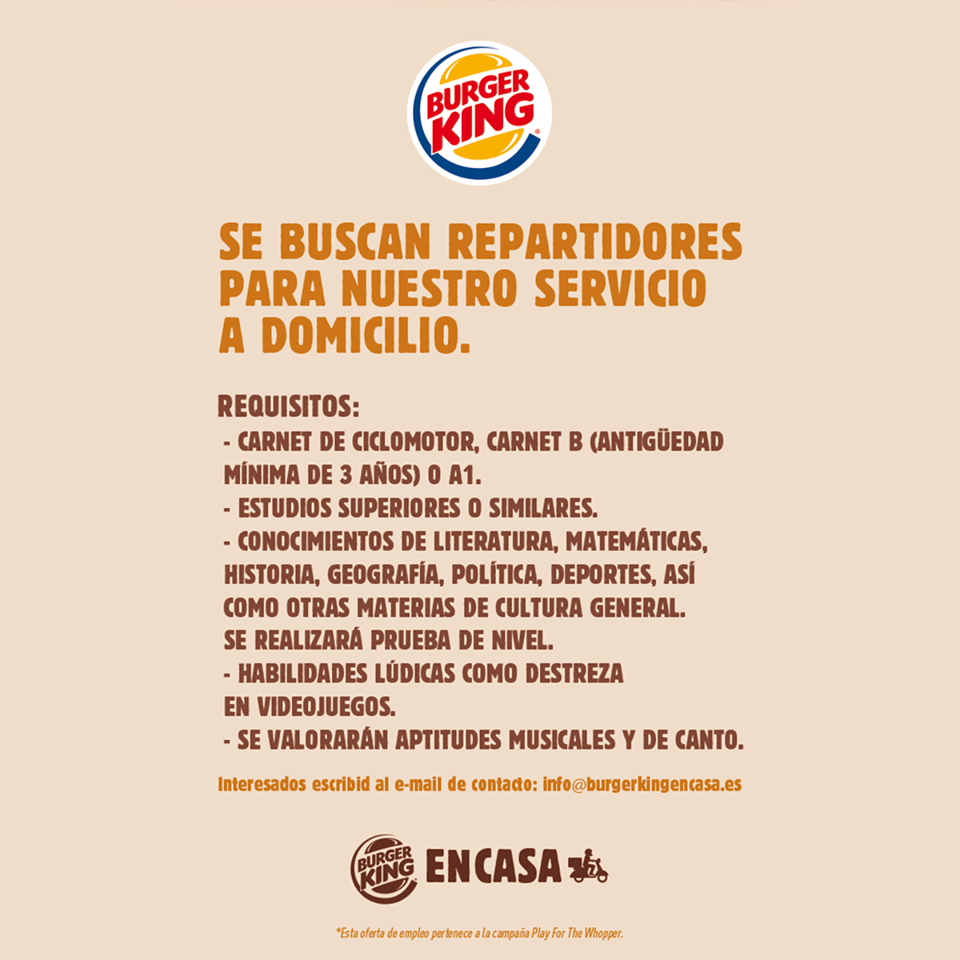 Fake News: Burguer King