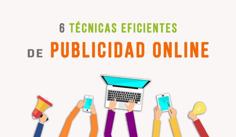 6 técnicas eficientes de publicidad online